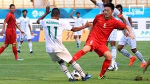 Olympic Việt Nam vs Pakistan