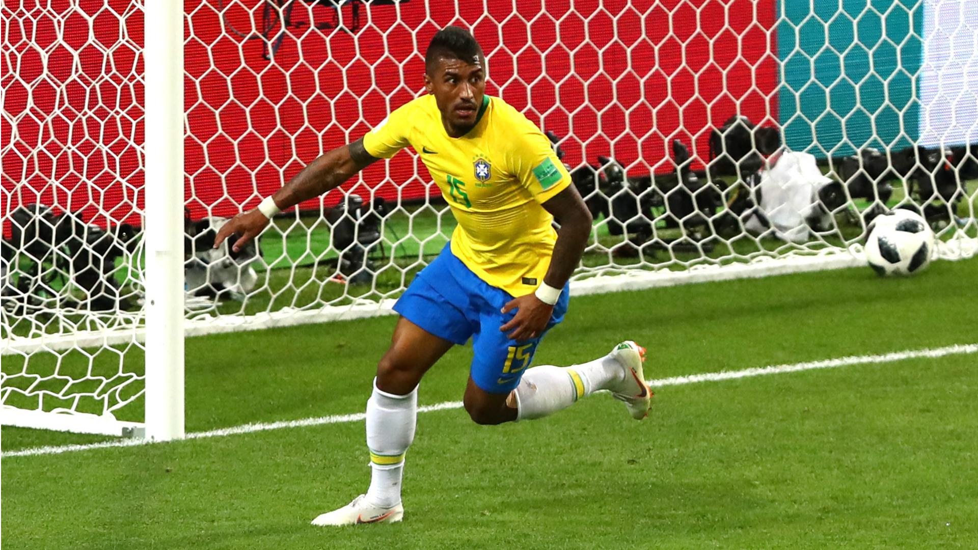 Paulinho I Brasil Sérvia I Copa do Mundo I 27 06 18