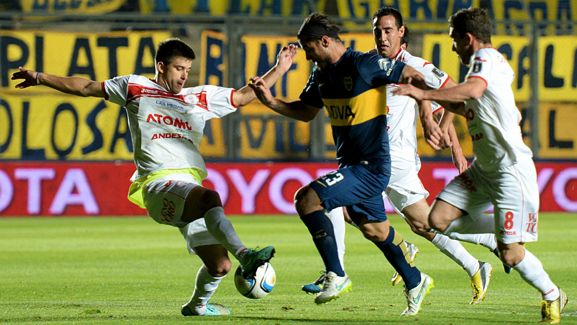 Daniel Osvaldo Boca Juniors Huracan Las Heras Copa Argentina 2015