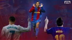 GFX Ronaldinho Messi Ronaldo