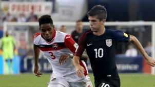 Joevin Jones Christian Pulisic Trinidad United States