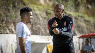 Radamel Falcao Thierry Henry Monaco 2018