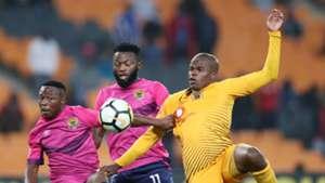 Karabo Tshepe & Mwape Musonda & Willard Katsande, Kaizer Chiefs, November 2018