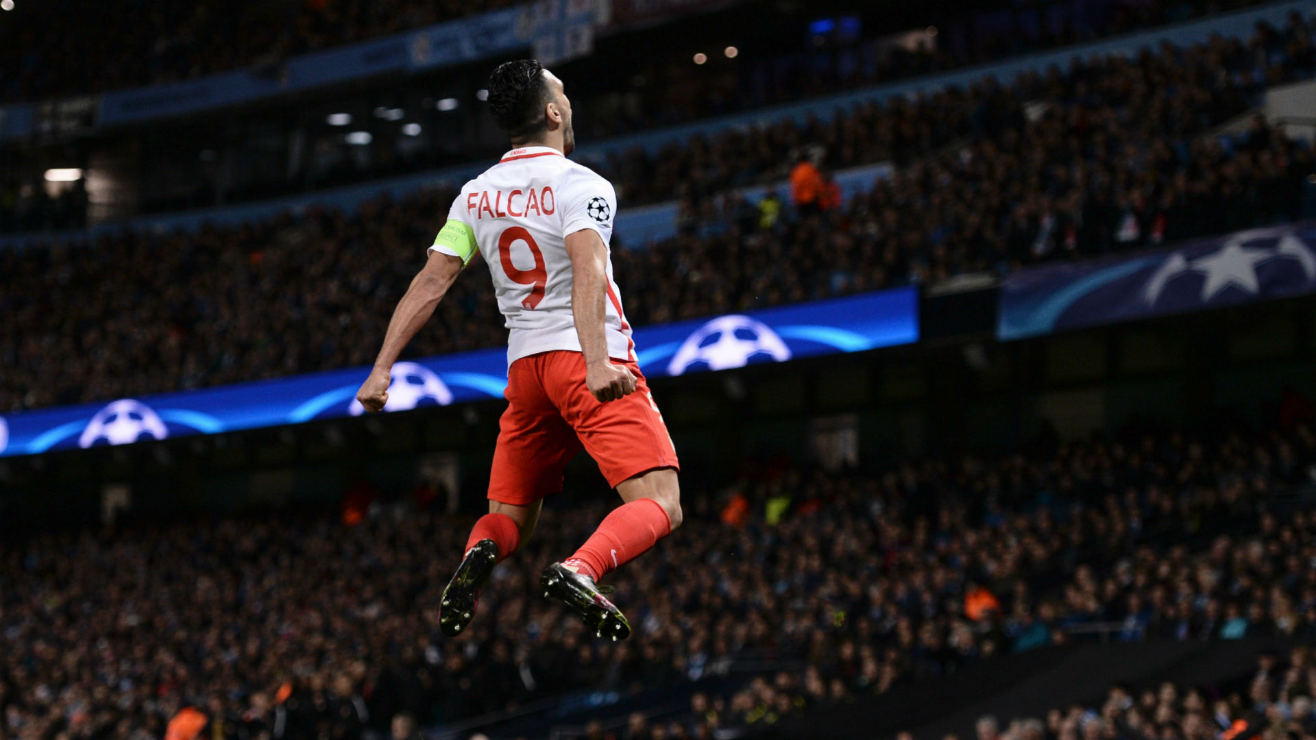 Radamel Falcao Manchester City Monaco