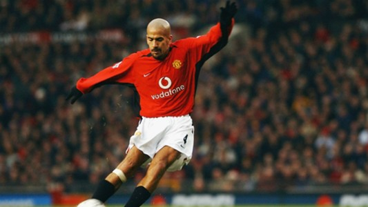 Juan Sebastian Veron Manchester United Premier League