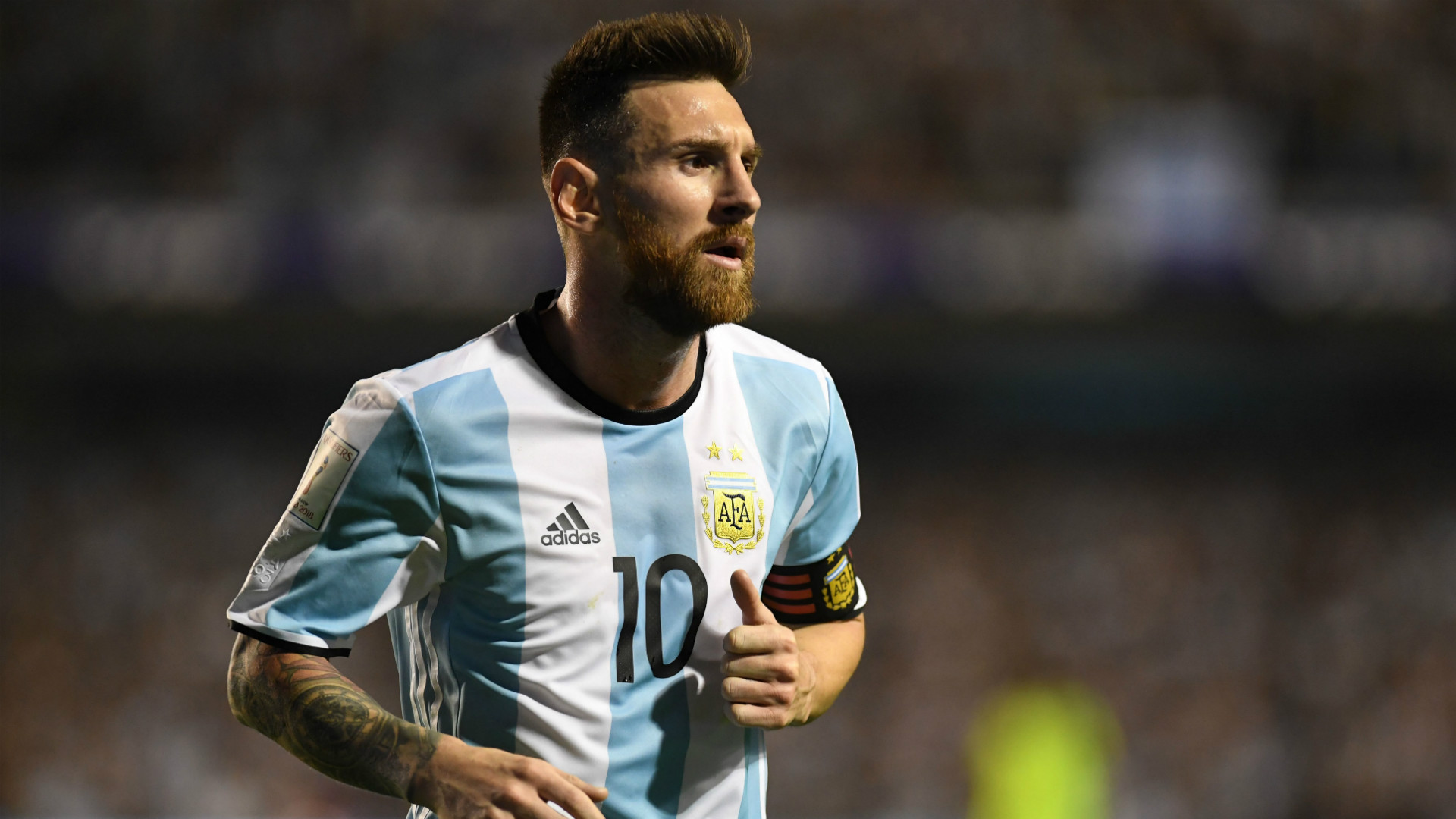 lionel messi football owed argentina hat trick the