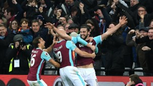 Andy Carroll West Ham 14012017