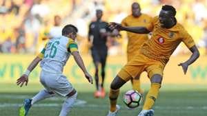 Gaston Sirino, Mamelodi Sundowns & Eric Mathoho, Kaizer Chiefs, July 2018