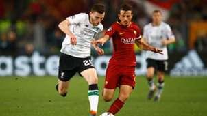 Alessandro Florenzi Andy Robertson Roma Liverpool UEFA Champions League 05022018