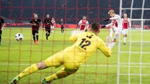 Kasper Dolberg, Ajax - Excelsior, Eredivisie 12142017