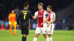 Cristiano Ronaldo Matthijs de Ligt Juventus Turin Ajax Amsterdam 09042019