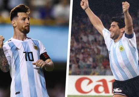 'Maradona is light years behind Messi' - Ramos