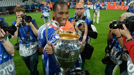 Didier Drogba FC Chelsea Champions League