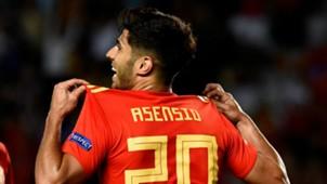 Marco Asensio Spain 2018-19