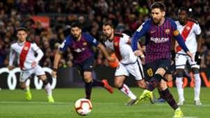 Lionel Messi Barcelona Rayo Vallecano LaLiga 09032019