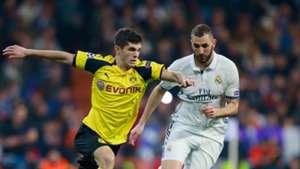Christian Pulisic Dortmund Real Madrid
