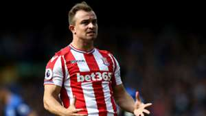 Xherdan Shaqiri Stoke City Premier League