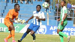 John Waw of Sony Sugar v Brian Marita of AFC Leopards.
