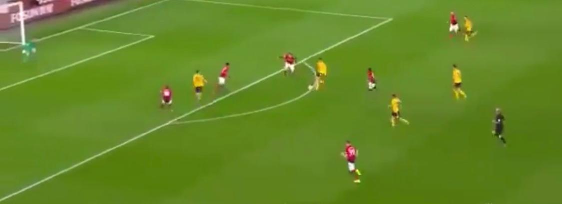 Raúl Jiménez Wolves Manchester United