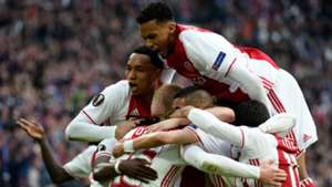 Kasper Dolberg Ajax Lyon Europa League