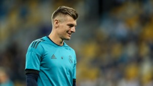 Toni Kroos Real Madrid Training