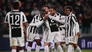 Juventus celebrating Juventus Crotone Serie A