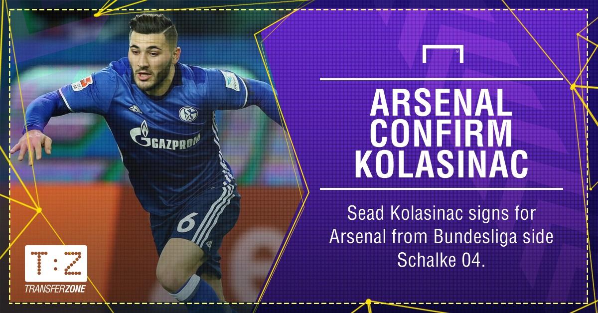 GFX Sead Kolasinac confirm