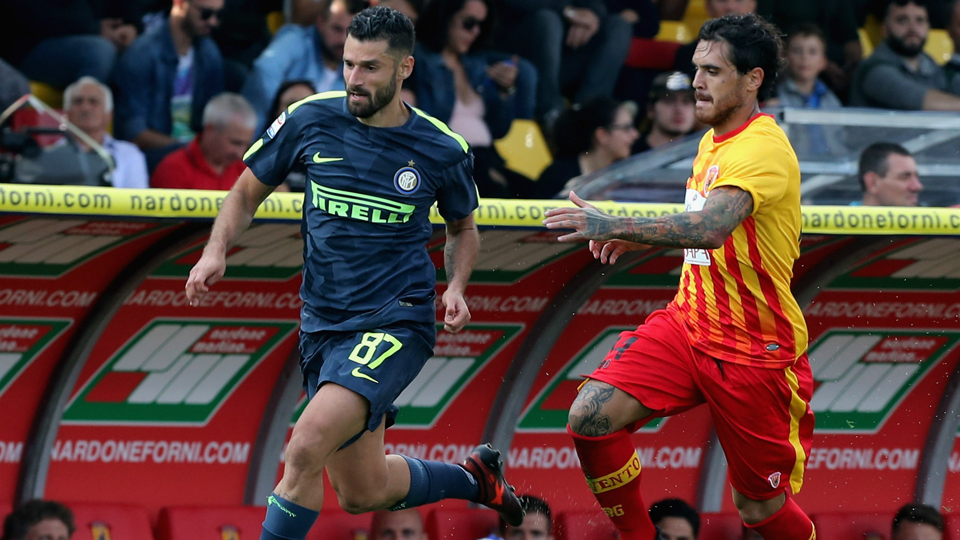 Candreva Viola Benevento Inter