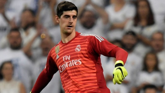 Courtois Real Madrid Leganes 02 09 2018