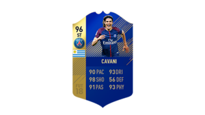 FIFA 18 Ligue 1 Team of the Season Cavani