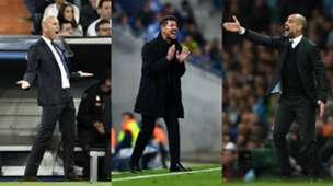 GFX Zidane Simeone Guardiola