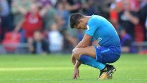 Alexis Sanchez Arsenal v Liverpool