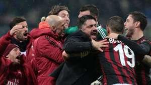 Gennaro Gattuso AC Milan Inter