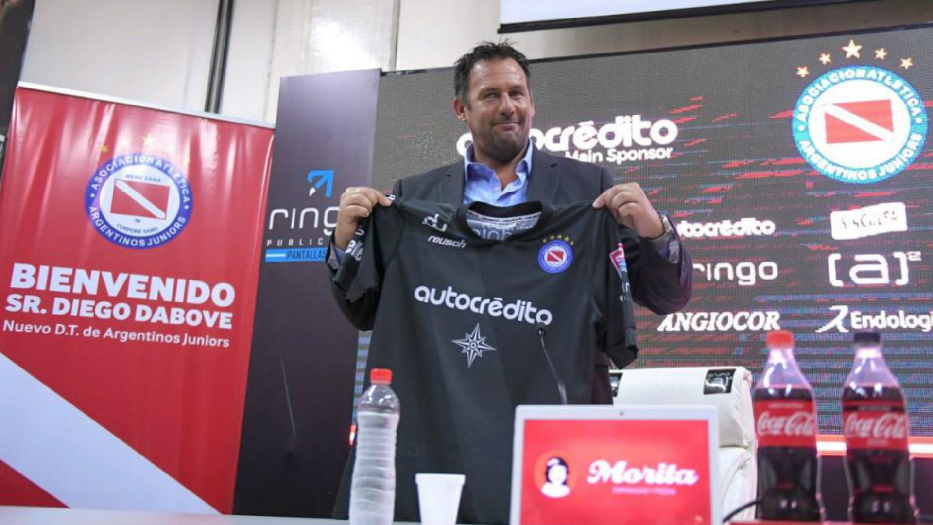 Diego Dabove Argentinos Juniors