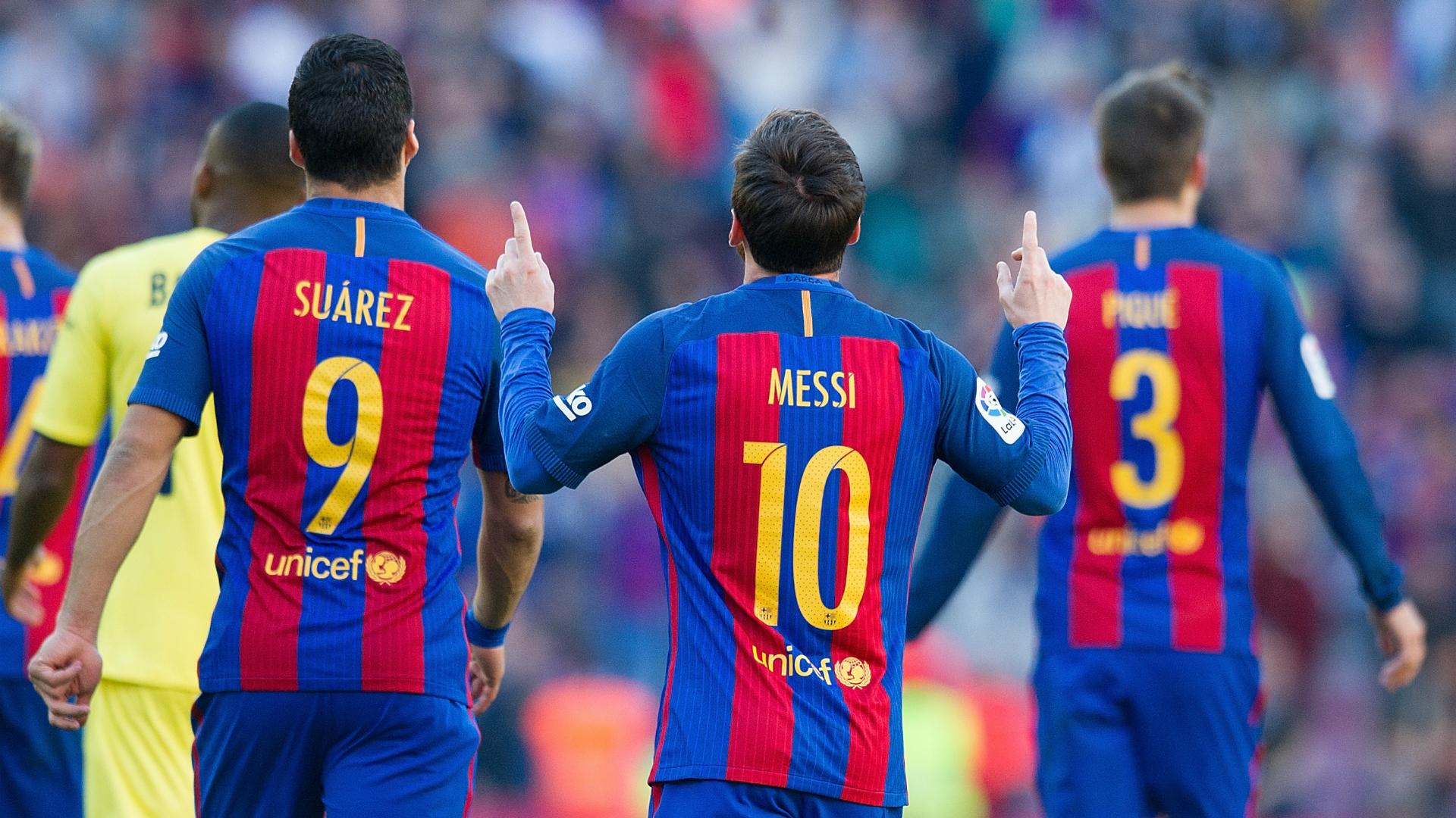 Lionel Messi Luis Suarez Barcelona Villarreal LaLiga 06052017