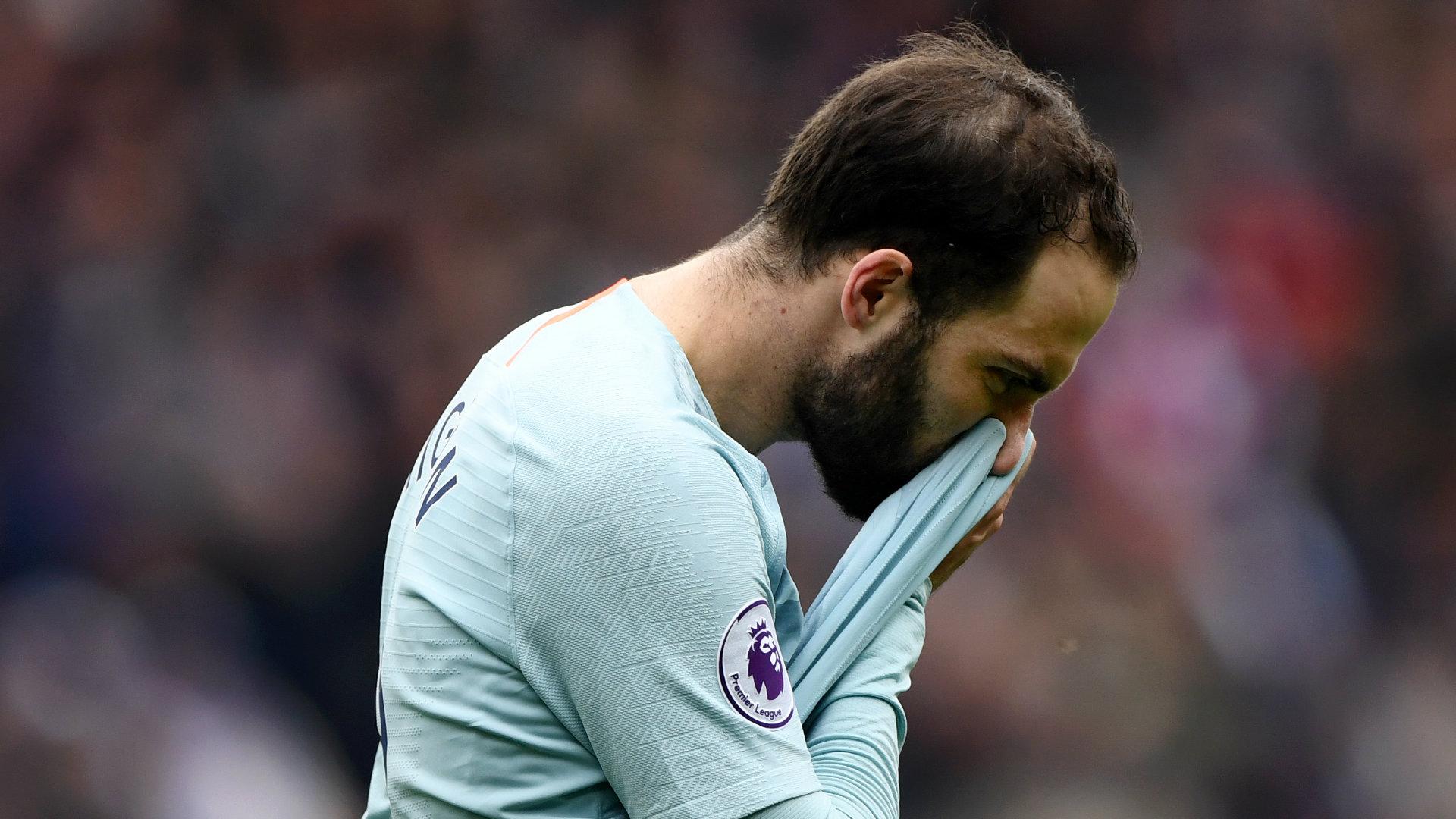 Gonzalo Higuain Cardiff vs Chelsea Premier League 2018-19