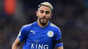 Riyad Mahrez Leicester City Watford