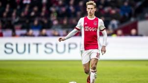 Frenkie de Jong, Ajax, Eredivisie 01212018
