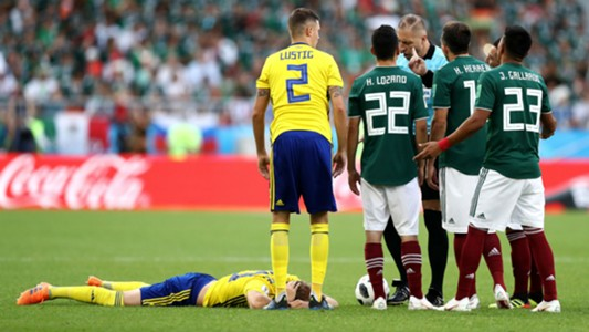 Gallardo Mexico Sweden World Cup