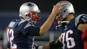 Tom Brady Sebastian Vollmer New England Patriots 22112015