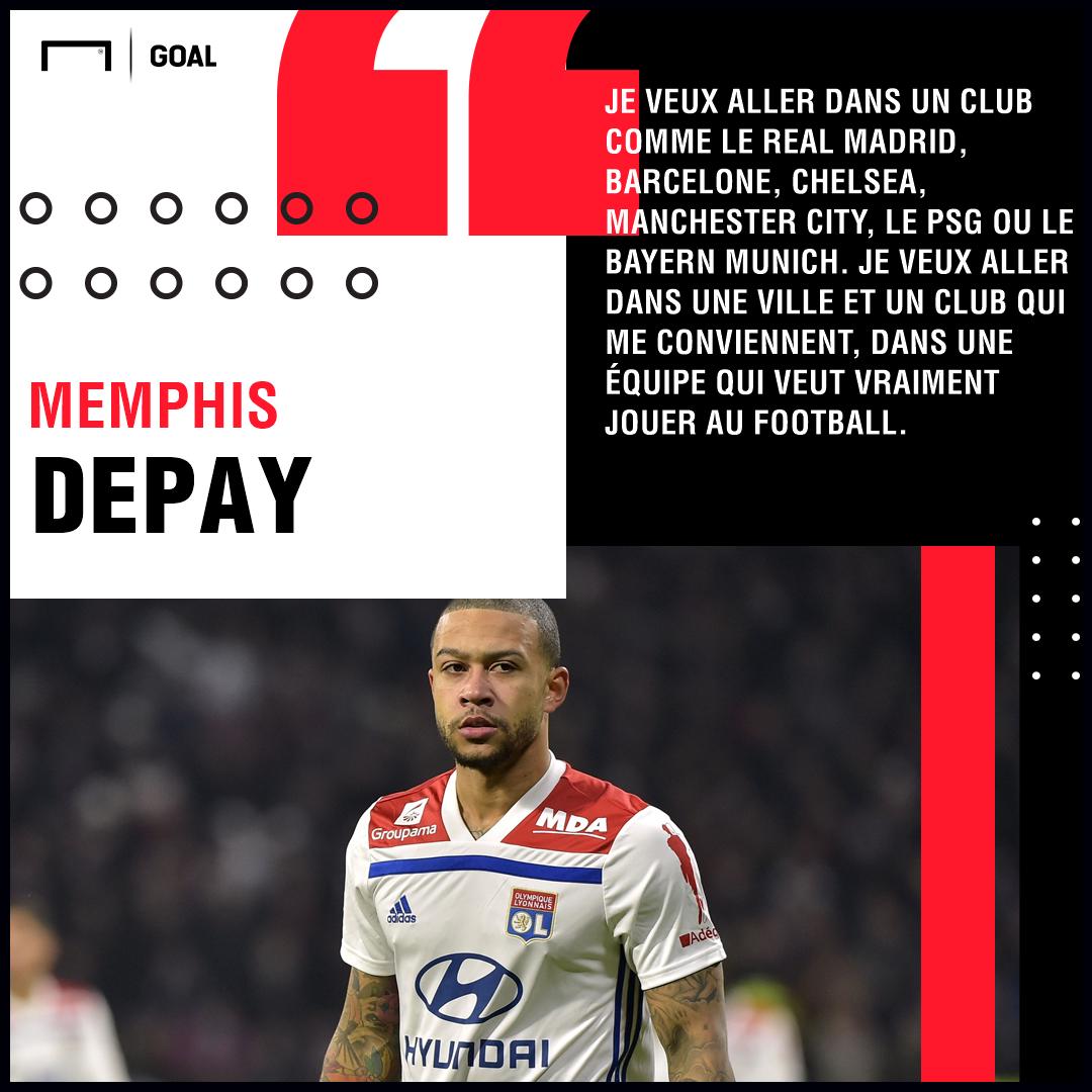 Depay - Lyon