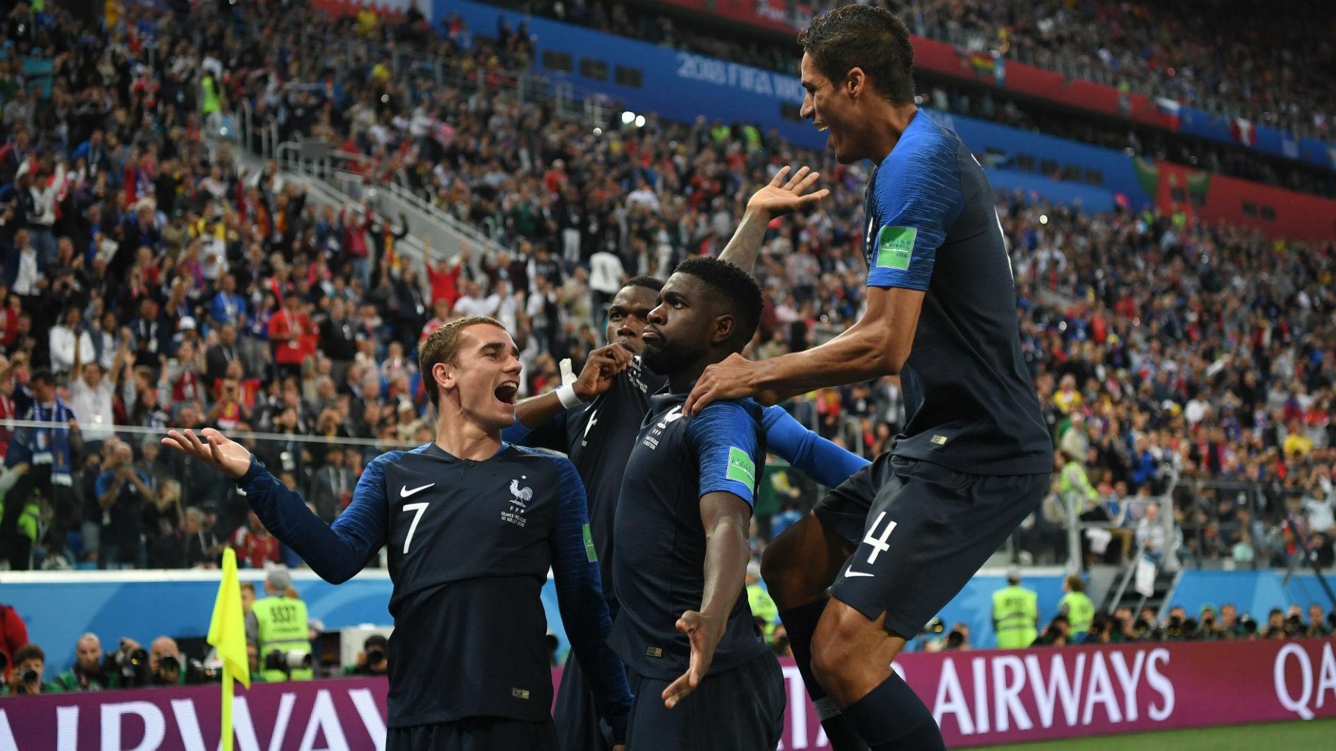 Umtiti Franca Belgica semifinal Copa 2018