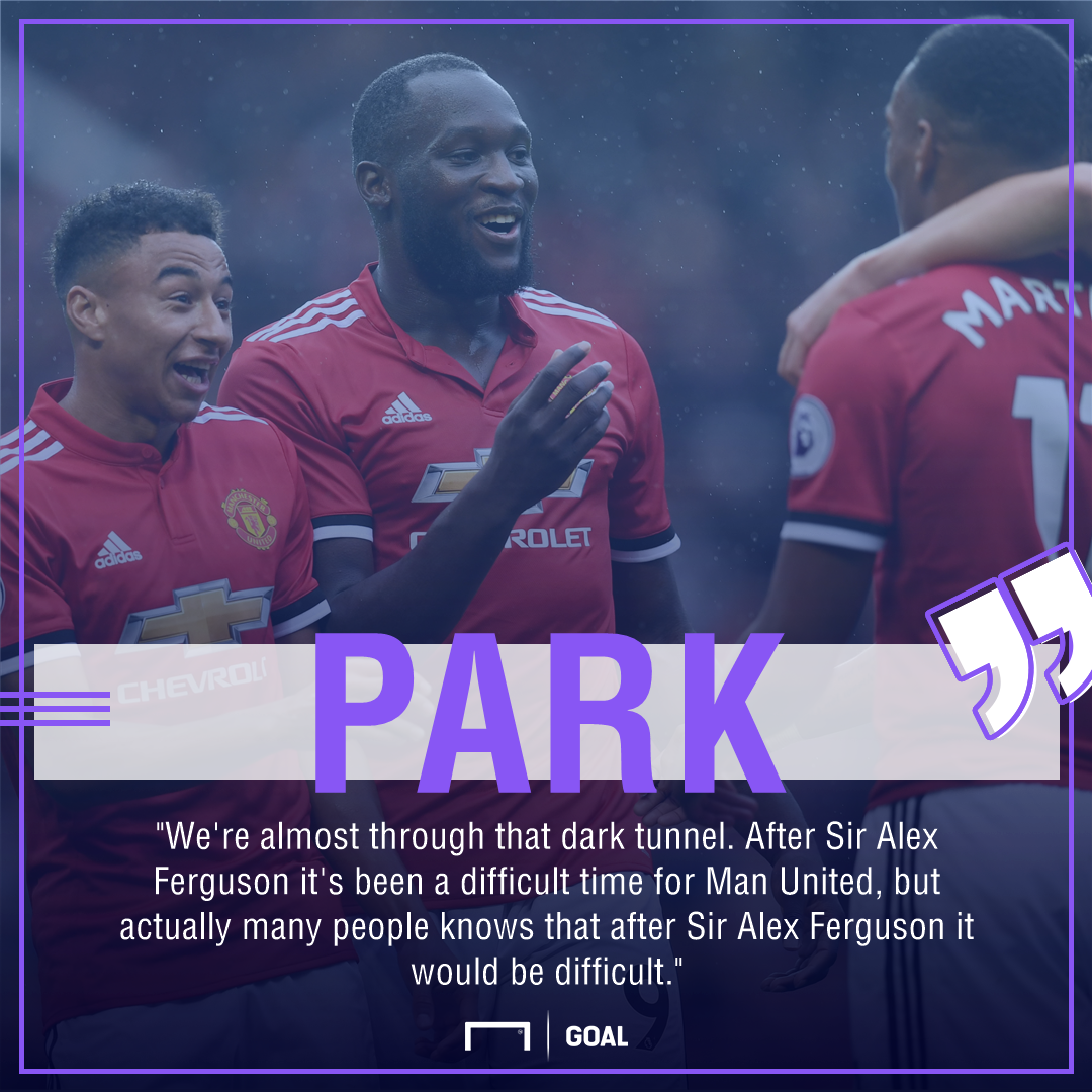 Park Ji-sung Manchester United dark tunnel