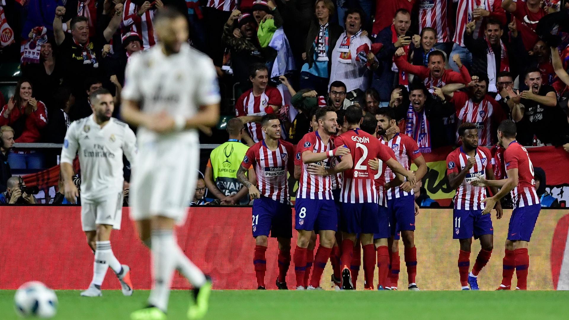 Real Madrid Atletico Madrid Super Cup