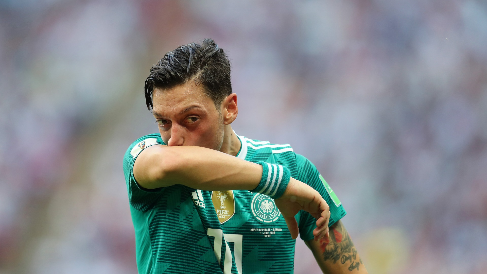 Bierhoff: Ozil selection may have been a mistake