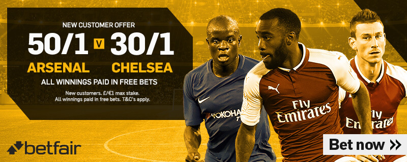 GFX Arsenal Chelsea enhanced betting