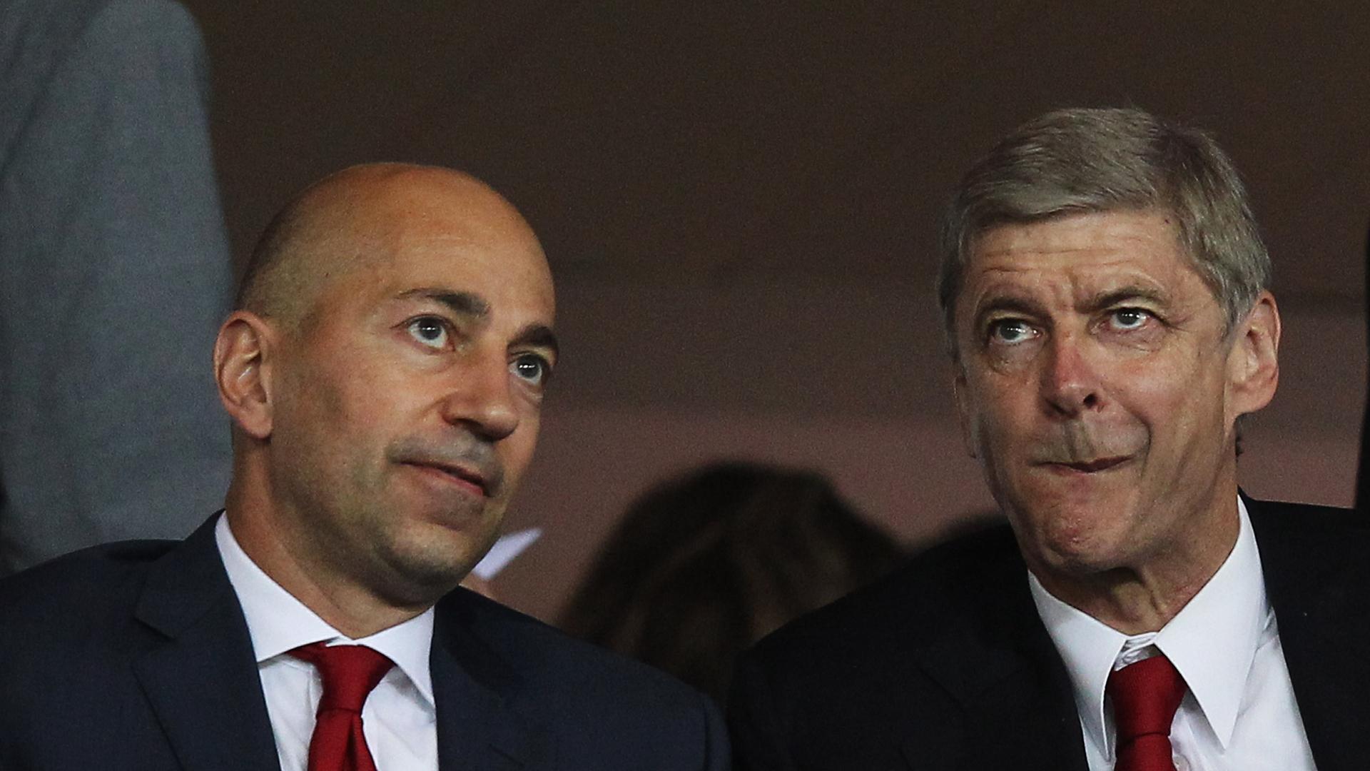 Gazidis Wenger Arsenal