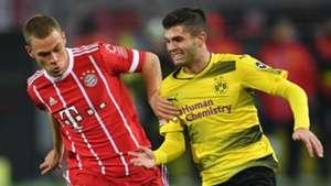 Josh Kimmich Christian Pulisic Bayern Dortmund