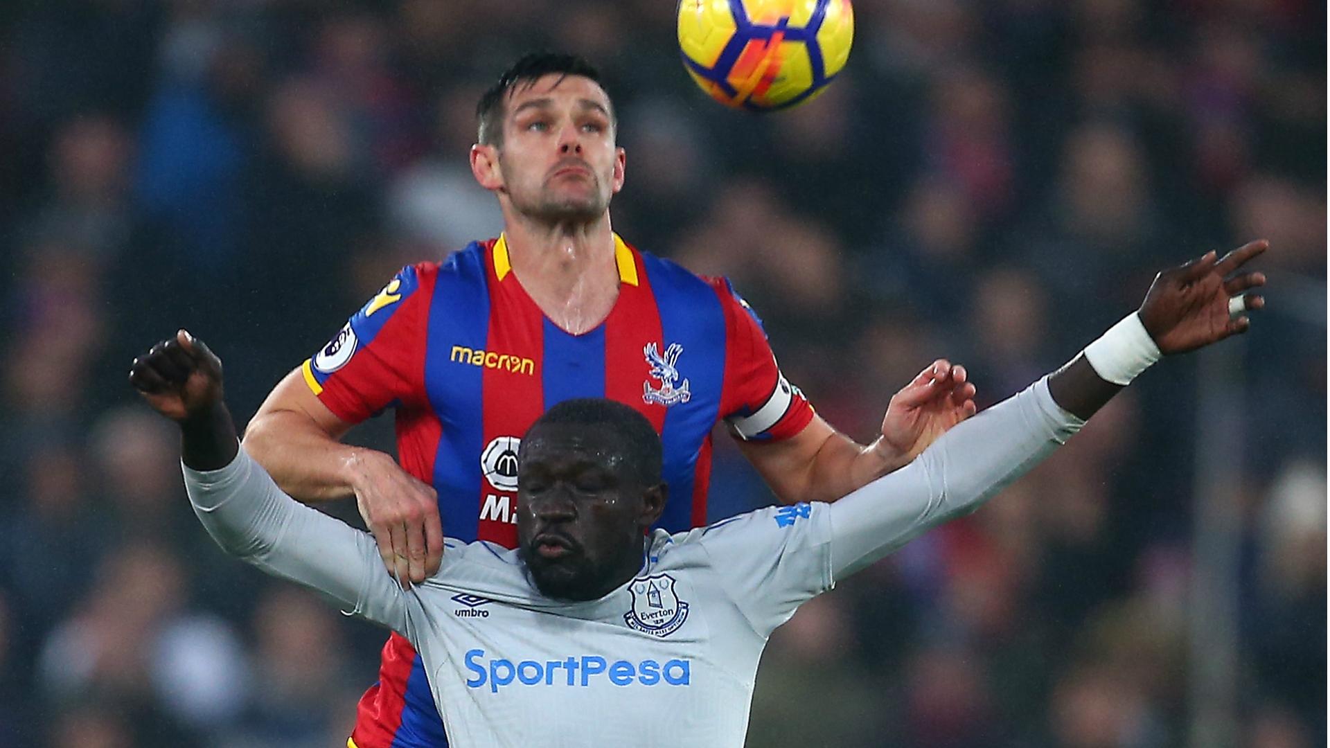 Scott Dann, Oumar Niasse - Crystal Palace vs. Everton