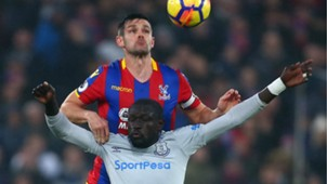 Scott Dann, Oumar Niasse - Crystal Palace vs. Everton